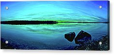 Reflections Of Serenity Acrylic Print by ABeautifulSky Photography