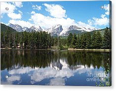 Reflections Of Sprague Lake Acrylic Print