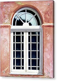 Reflections Of The Past - Prints From My Original Oil Painting Acrylic Print