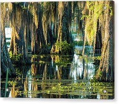 Reflections Of The Times Acrylic Print