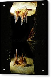 Reflections Of The Underworld Acrylic Print by Marion Cullen