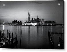 Reflections Of Venice Acrylic Print by Andrew Soundarajan