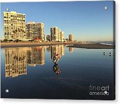 Reflections On Coronado Acrylic Print