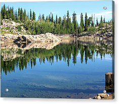 Reflections On Lake Mary Acrylic Print
