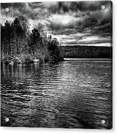 Reflections On Limekiln Lake Acrylic Print by David Patterson