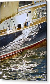 Reflections On Lorelei - Lake Geneva Wisconsin Acrylic Print by Bruce Thompson