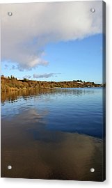 Reflections On Lough Fea. Acrylic Print