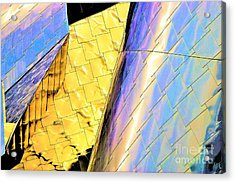 Reflections On Peter B. Lewis Building, Cleveland2 Acrylic Print