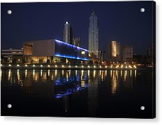 Reflections On Tampa Acrylic Print by David Lee Thompson