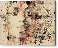 Reflections  Acrylic Print by Paul Lovering