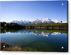 Reflections Acrylic Print by Richard Steinberger