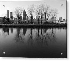 Reflections Acrylic Print by Robert Knight