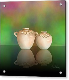 Acrylic Print featuring the painting Reflections by Sena Wilson