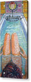 Reflections Acrylic Print by Susan Stewart