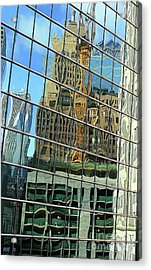 Reflective Chicago Acrylic Print