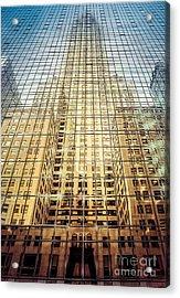 Reflective Empire Acrylic Print