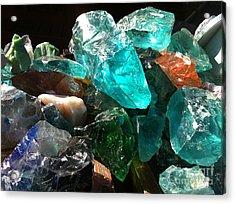 Gems Acrylic Print