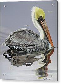 Reflective Perspective Acrylic Print