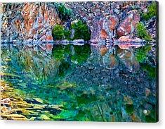 Reflective Pool Acrylic Print