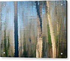 Acrylic Print featuring the photograph Reflet Rhodanien Pastel 2 by Marc Philippe Joly