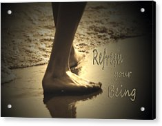 Refresh Your Being Spa Series Acrylic Print
