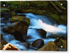 Refreshing Flow Acrylic Print