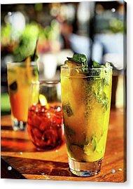 Refreshment 🍹 Acrylic Print by Arya Swadharma
