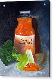 Refrigerator Items Acrylic Print