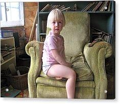 Regal Molly Acrylic Print by Lynn Friedman