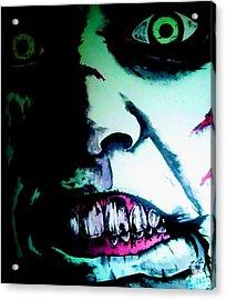 Regan Exorcist Acrylic Print by Sam Hane