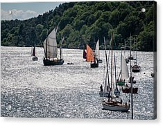 Regatta Time Acrylic Print