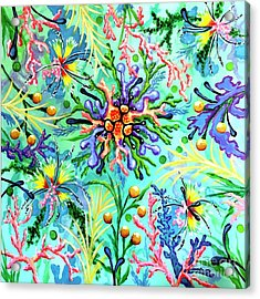 Regenerate Acrylic Print by Sandra Lett