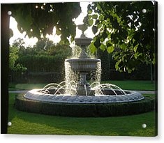 Regents Park Fountain Acrylic Print