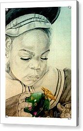 Regi Acrylic Print by Reggie Duffie