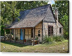 Registered Early Texas Dwelling Acrylic Print