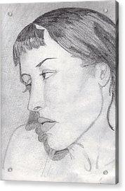 Regret Acrylic Print by Jean Haynes