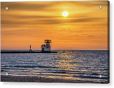 Acrylic Print featuring the photograph Rehabilitation Rising by Bill Pevlor