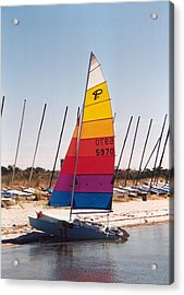 Rehobeth Sailing Acrylic Print