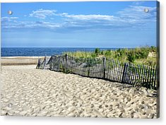 Acrylic Print featuring the photograph Rehoboth Delaware by Brendan Reals