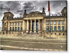 Reichstag Building  Acrylic Print by Jon Berghoff