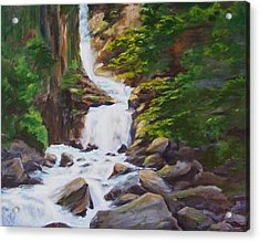 Reid Falls Acrylic Print