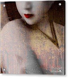 Reika  Acrylic Print by Steven Digman