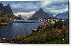 Acrylic Print featuring the photograph Reine by James Billings