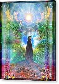 Rejoice-thy-young Acrylic Print
