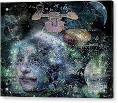 Relatively Speaking Acrylic Print by Eleni Mac Synodinos