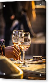 Relax Together Acrylic Print by David Warrington