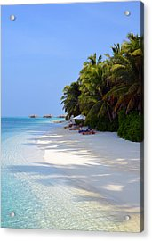 Relaxation Acrylic Print by Corinne Rhode