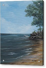 Relaxation Island Acrylic Print