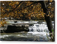 Relaxation Acrylic Print by Melissa  Riggs