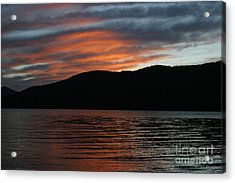 Relaxing At The End Of The Day Acrylic Print by Robert Torkomian